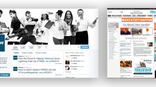 Digital ad campaigns, website, and social headers